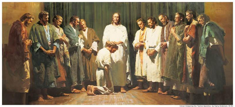 ¿Las Iglesias hoy en día deberían tener doce apóstoles?