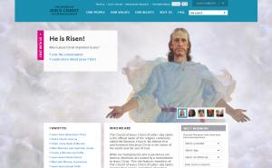 Los Santos de los Últimos (Mormones) comparten testimonio de la Resurrección en medios sociales
